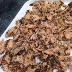 Peppered Salmon pieces